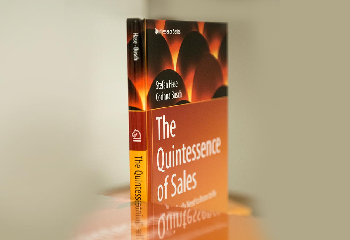 "The new book ""The Quintessence of Sales"""